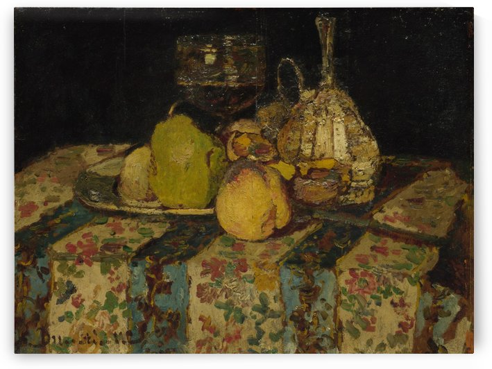 Fruit by Adolphe Monticelli
