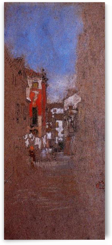 Calle San Trovaso, Venic by Whistler by Whistler