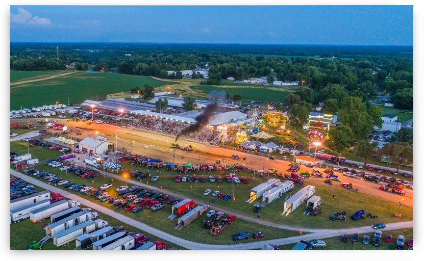 2017 Schuyler Co Fair Tractor Pull by Jordan Williams of Air Imagery Services