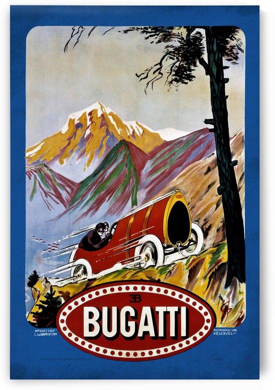 Bugatti Type 9 Prince Henri Affiche Golf Lyon 1911 by RacingCarsPosters
