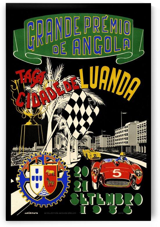 Grand Prix Grande Premio de Angola 1958 by RacingCarsPosters