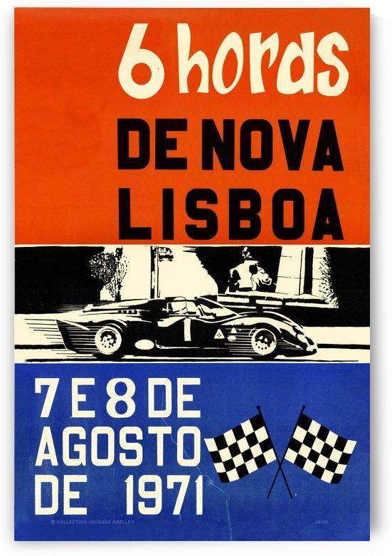 6 Hords De Nova Lisboa Huambo 1971 by RacingCarsPosters