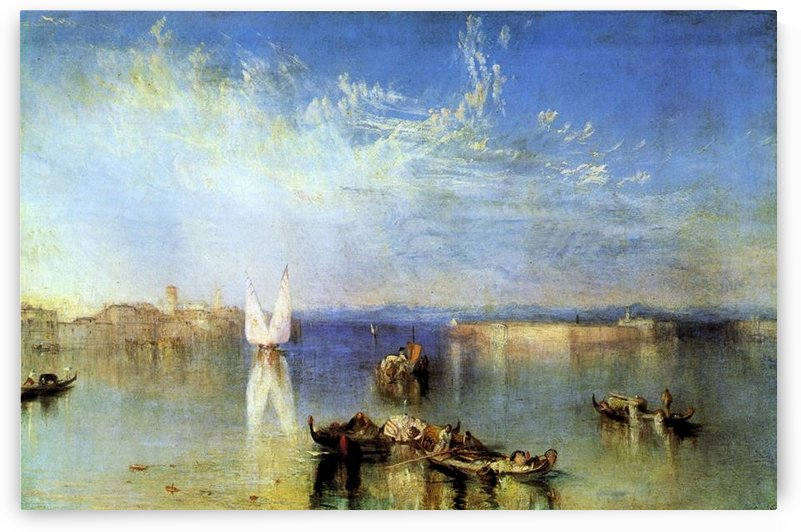 Campo Santo, Venice by Joseph Mallord Turner by Joseph Mallord Turner