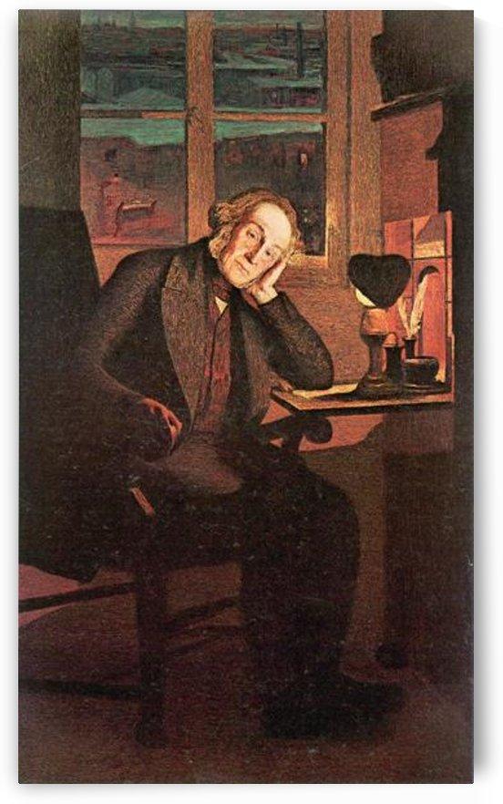 Carlo Rotta by Giovanni Segantini by Giovanni Segantini