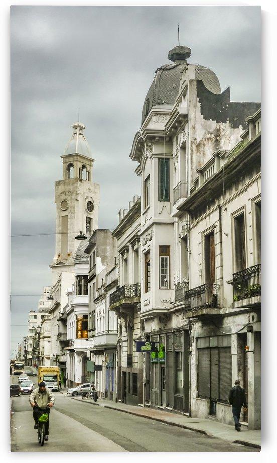 Montevideo Historic Center Cityscape01 by Daniel Ferreia Leites Ciccarino