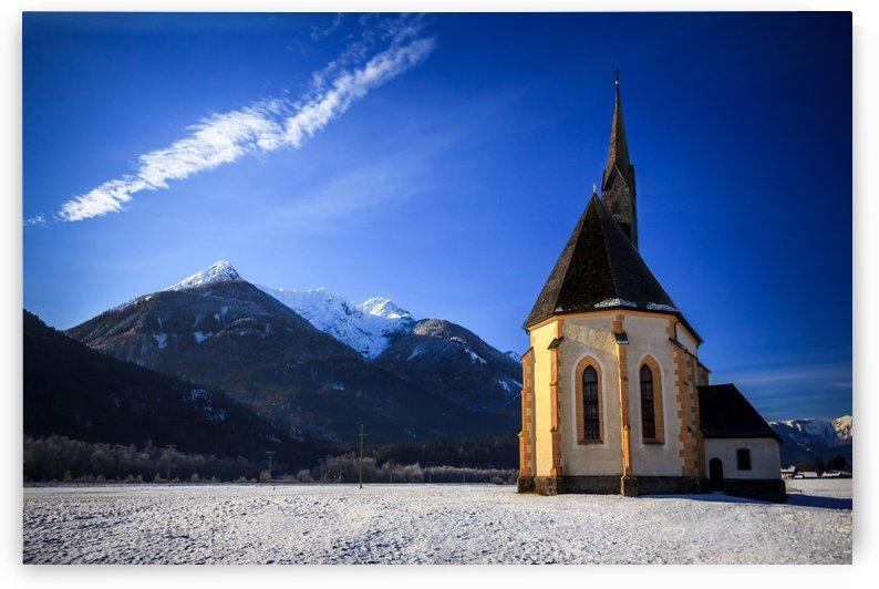 Old Church by zoltanduray