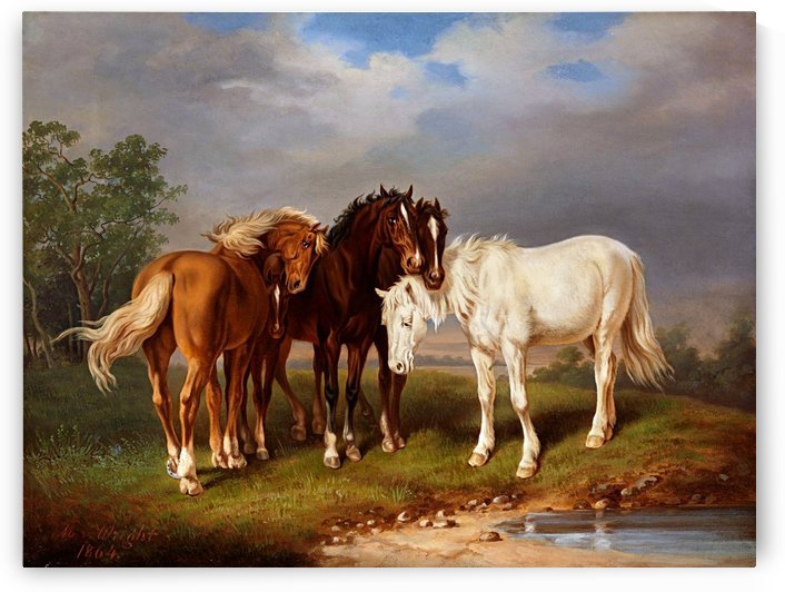 Beautiful Horses_OSG by One Simple Gallery