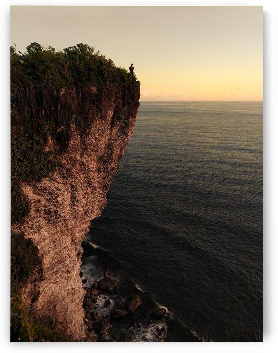 Karang Boma cliff -  Bali by Grant Wilbert