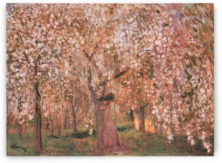 Cherry tree blooms by Joseph Rippl-Ronai by Joseph Rippl-Ronai