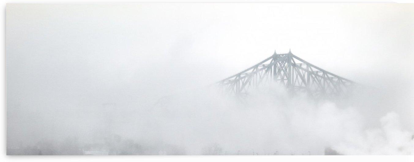 Jacques Cartier bridge Montreal Quebec Canada by Madame B
