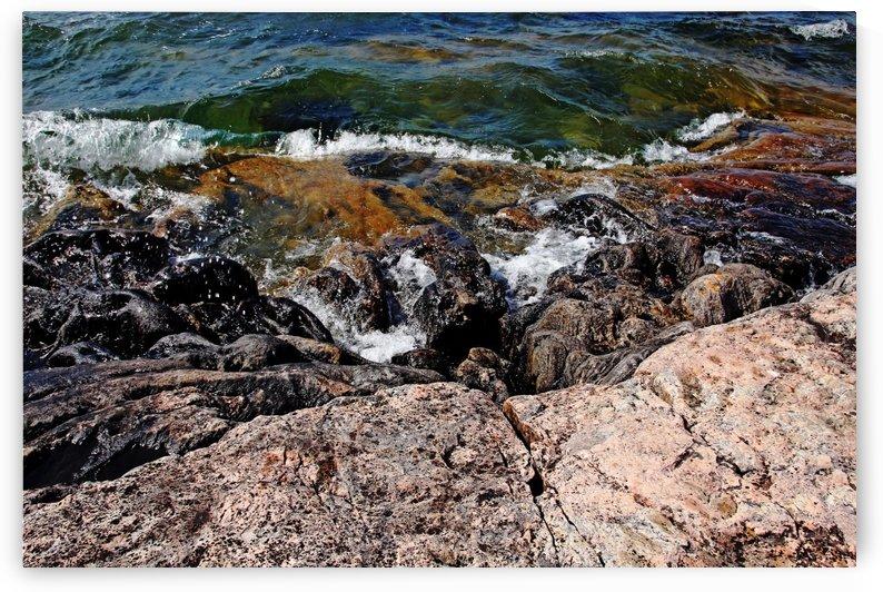 Wreck Island Shore II by Deb Oppermann