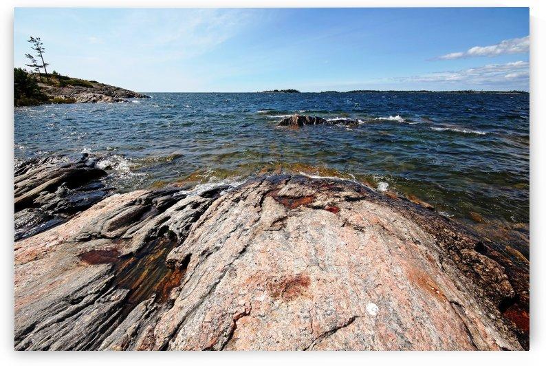 Wreck Island Shore VIII by Deb Oppermann