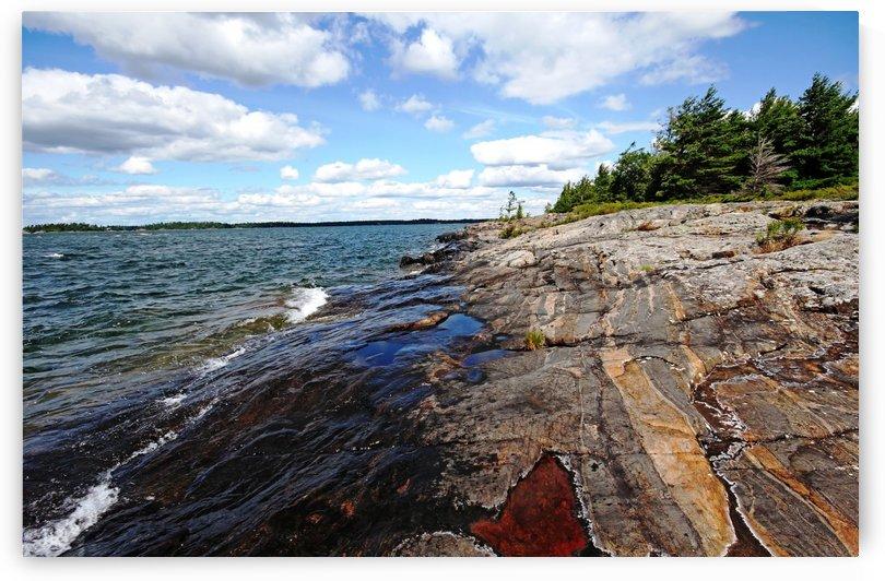 Wreck Island Shore IX by Deb Oppermann