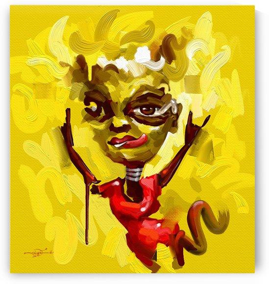 DREAD ON RED by GORDEN KEGYA
