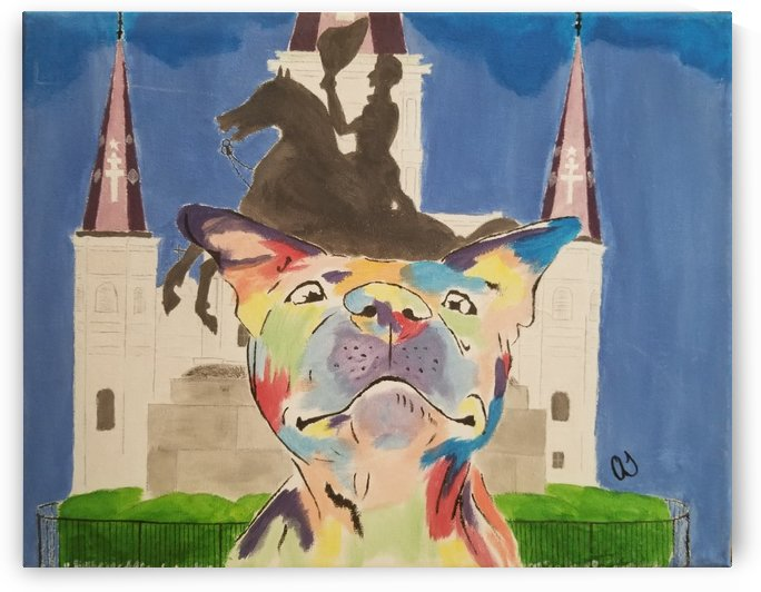 Multi color Dog 3 by Aaliyah