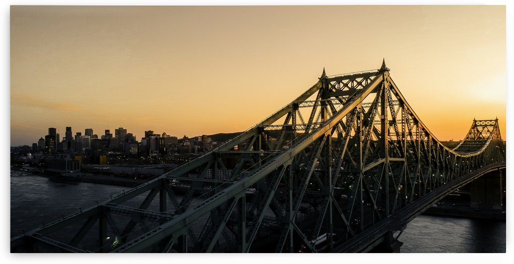 Montreal skyline by Eloa Defly