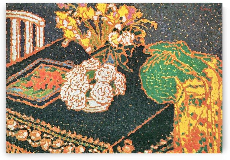 Chrysanthemums by Joseph Rippl-Ronai by Joseph Rippl-Ronai