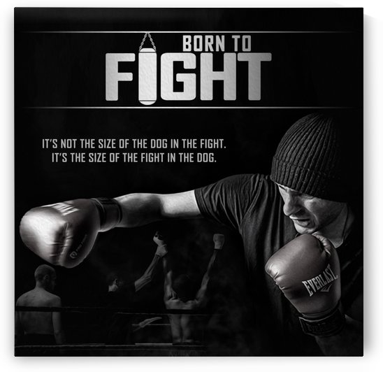 Born To Fight by ABConcepts