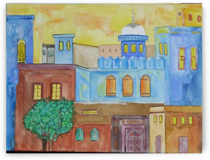 ahson qazi,cityscape by Ahson Qazi