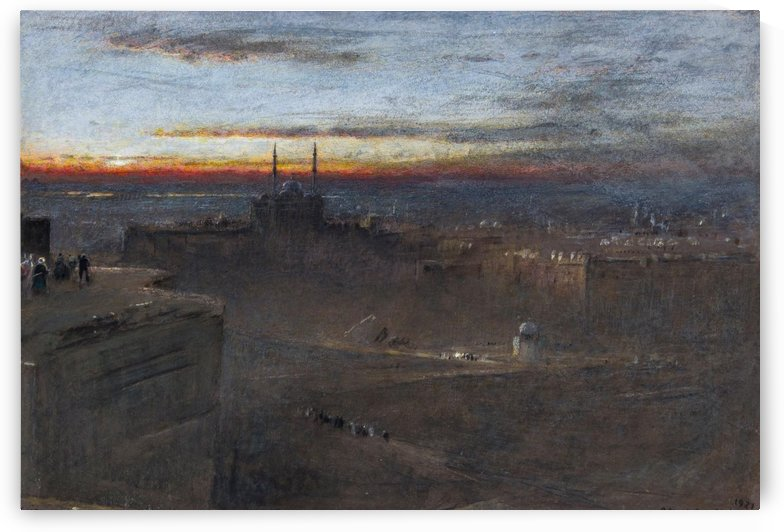 Sunrise by Adolphe Monticelli