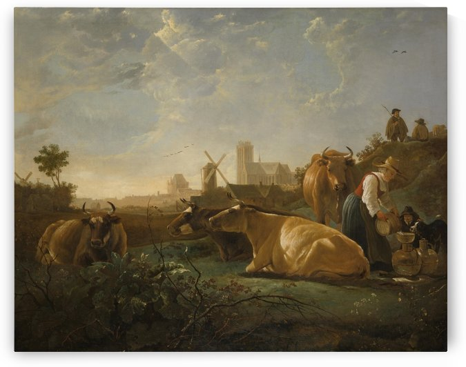 The Large Dort by Aelbert Cuyp