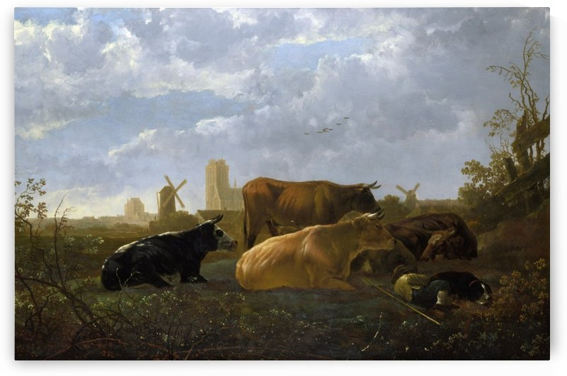 The Small Dort by Aelbert Cuyp