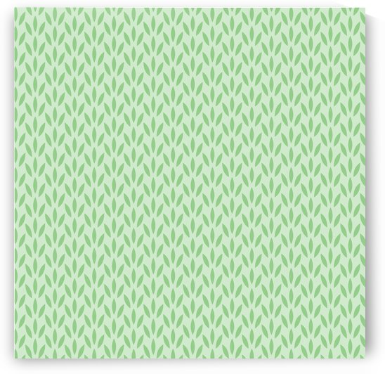 Green Flower Seamless Pattern Background by rizu_designs