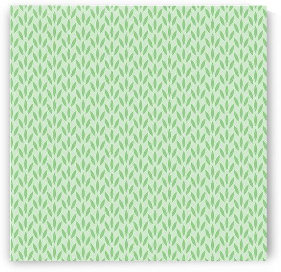 Green Flower Seamless Pattern Background by Rizwana Khan