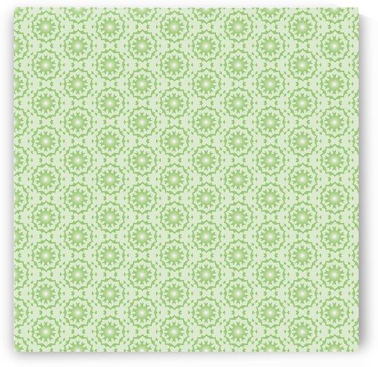 GREEN ARABIC STYLE SEAMLESS PATTERN Background    by Rizwana Khan