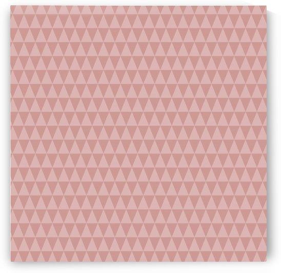 ORANGE Triangle Shape Seamless Pattern Background    by Rizwana Khan