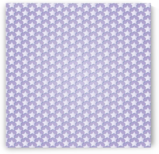 Purple Star Pattern by rizu_designs
