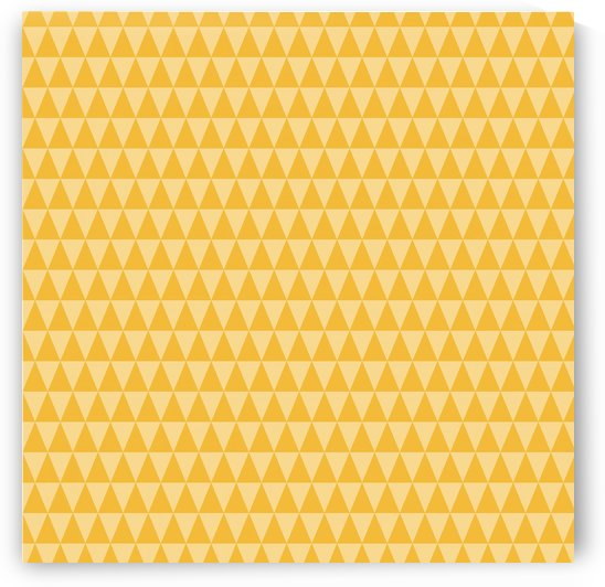 YELLOW Triangle Shape Seamless Pattern Background   by rizu_designs