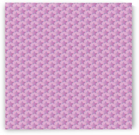 Pink Star Pattern by Rizwana Khan