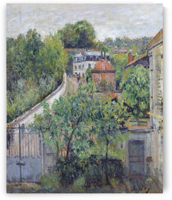 View of Serves by Alfred Sisley