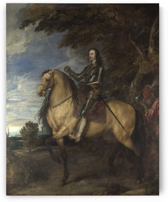 Equestrian Portrait of Charles I by Anthony van Dyck