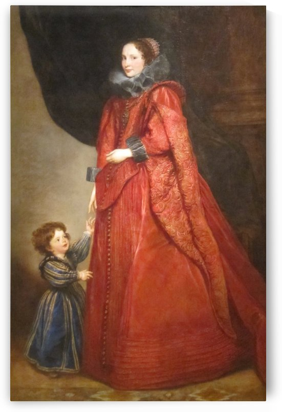 Portrait of a Woman and Child by Anthony van Dyck
