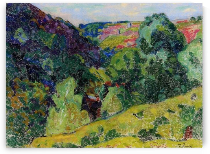 Landscape of the Creuse by Armand Guillaumin