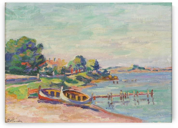 Southern Landscape, Le Brusc by Armand Guillaumin