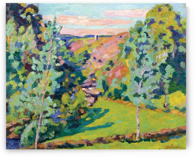 The Valley of Sedelle by Armand Guillaumin