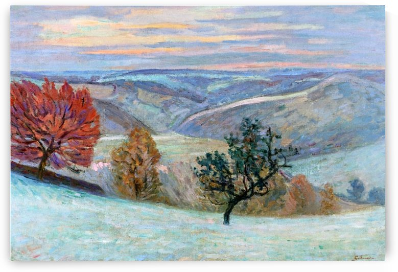 Le Puy Barriou by Armand Guillaumin