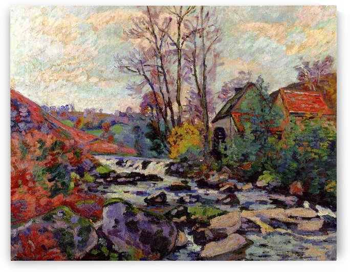 Banks of the Sedelle, Crozant by Armand Guillaumin