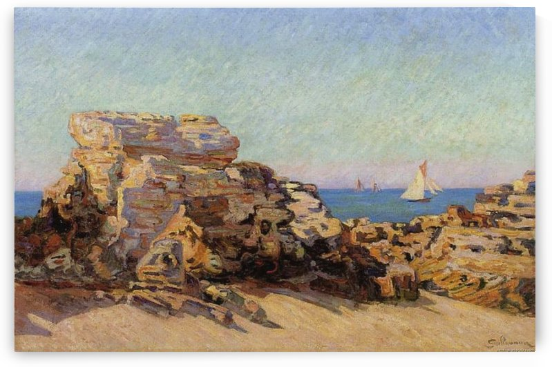 The Sand Quarry 1893 by Armand Guillaumin