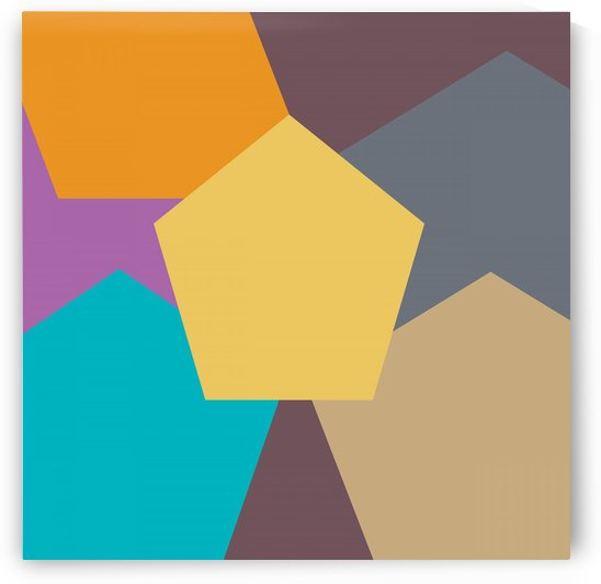 COLORFUL HEXAGON Pattern by rizu_designs