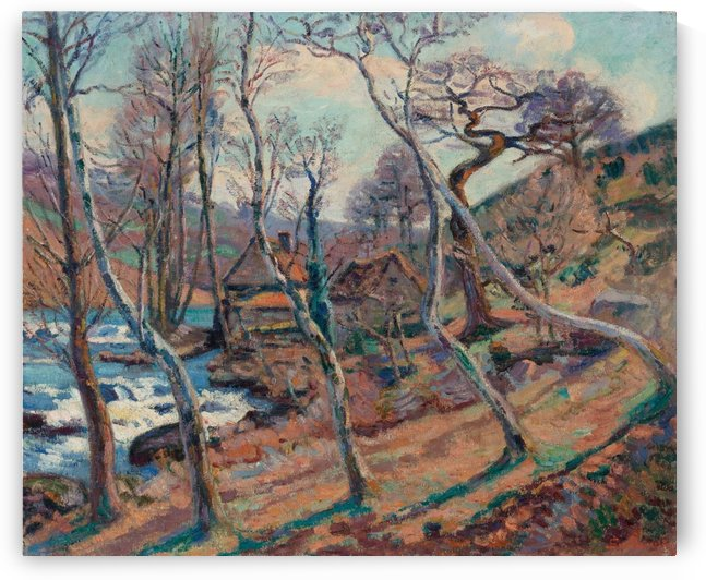The Mill, Bouchardon by Armand Guillaumin