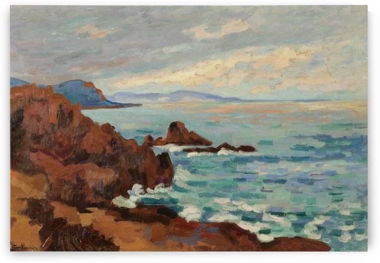 The West, Trayas-Agay by Armand Guillaumin