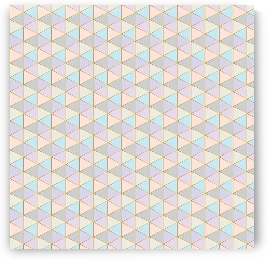 Hexagon Color Art Pattern by rizu_designs
