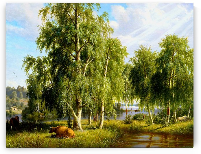 Beautiful Summer Day In The Farm_OSG by One Simple Gallery