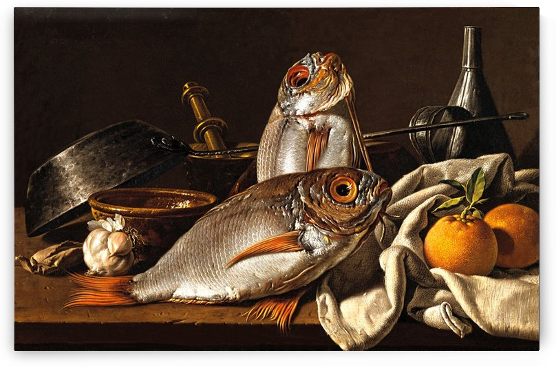 Still Life with Fish And Fruits_OSG by One Simple Gallery