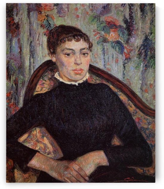 Portrait of the Artist's Wife by Armand Guillaumin