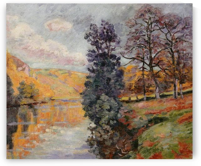 The Echo Rock at Crozant by Armand Guillaumin
